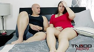 MILF Madisin Lee Fucks Stepson in Mom&#039_s Smelly Pussy