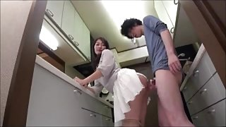 Japanese Mom Seduces the Boys - MrBonham