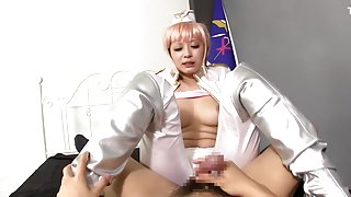 Exotic Japanese chick Haruki Sato in Incredible JAV censored Small Tits, Blowjob clip