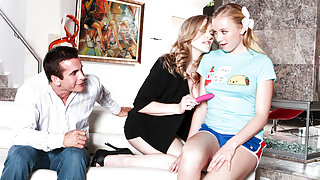Tracey Sweet,Vicky Vixen in My Wife And I Are Fucking The Babysitter #03, Scene #04