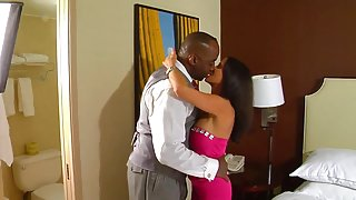 Perfect sexwife and her black lover