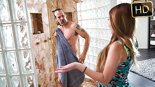 Cali Hayes in Creampied By Her Best Friends Dad - TeamSkeet