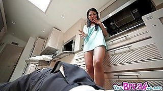 Plumber fucks Cindy Starfall with a nasty doggystyle