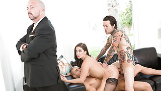 Lea Lexis & Xander Corvus & Small Hands in The DP Brothers - PrettyDirty