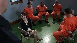 Psychology student Tegan Tate visits a prison asking to do group therapy with prisoners. Once Bobby Bends and his gang are alone in the room with her, theyll get what they want...